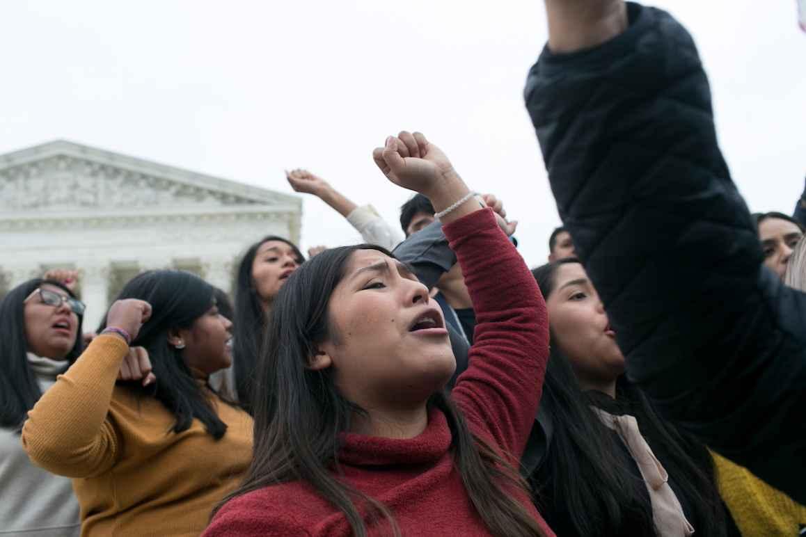 DACA protest SCOTUS
