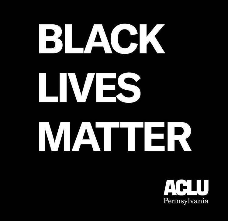 Black Lives Matter ACLU-PA