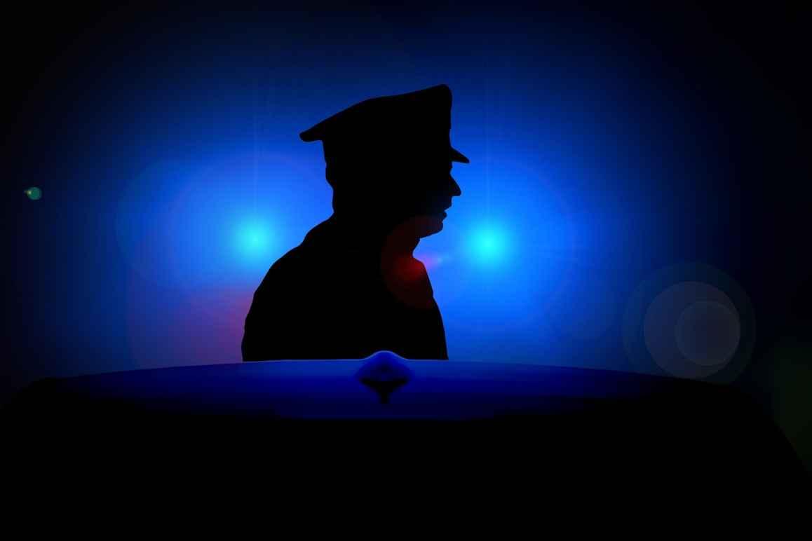 blue light cop