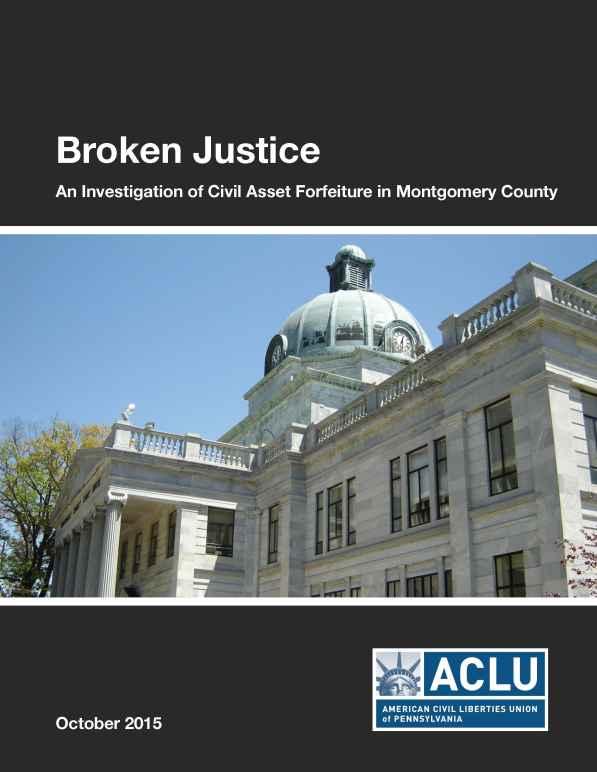 Broken Justice Montgomery County