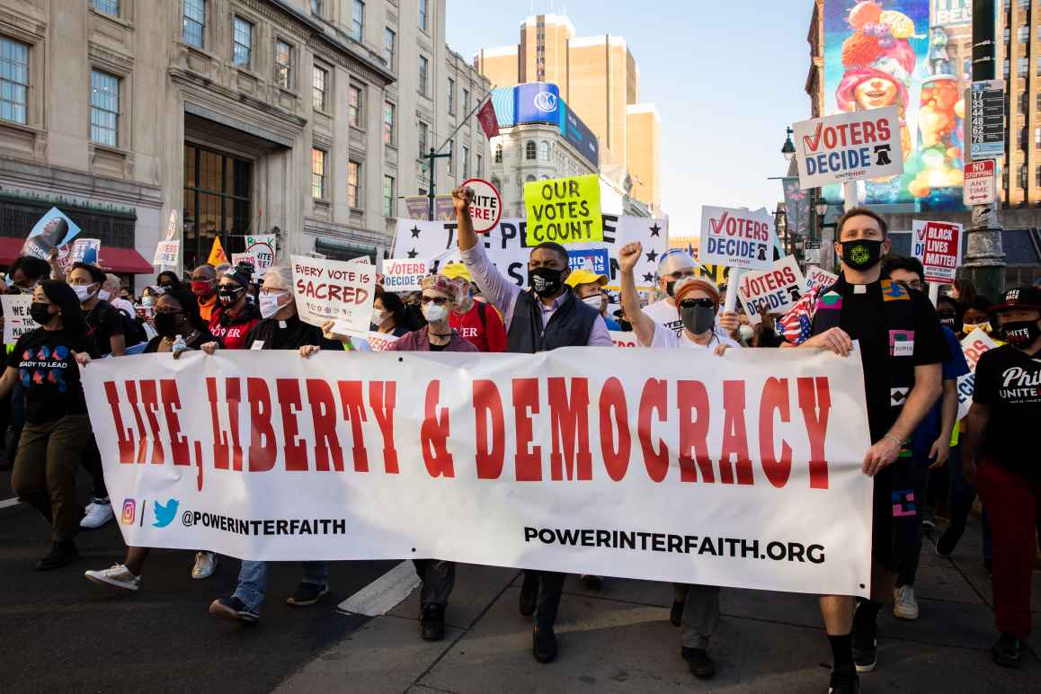 Voters Decide Rally Philly