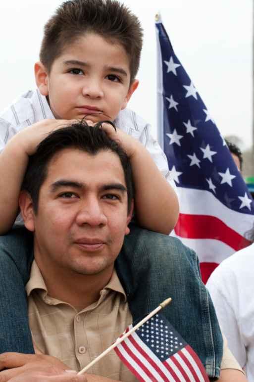 immigration stock photo