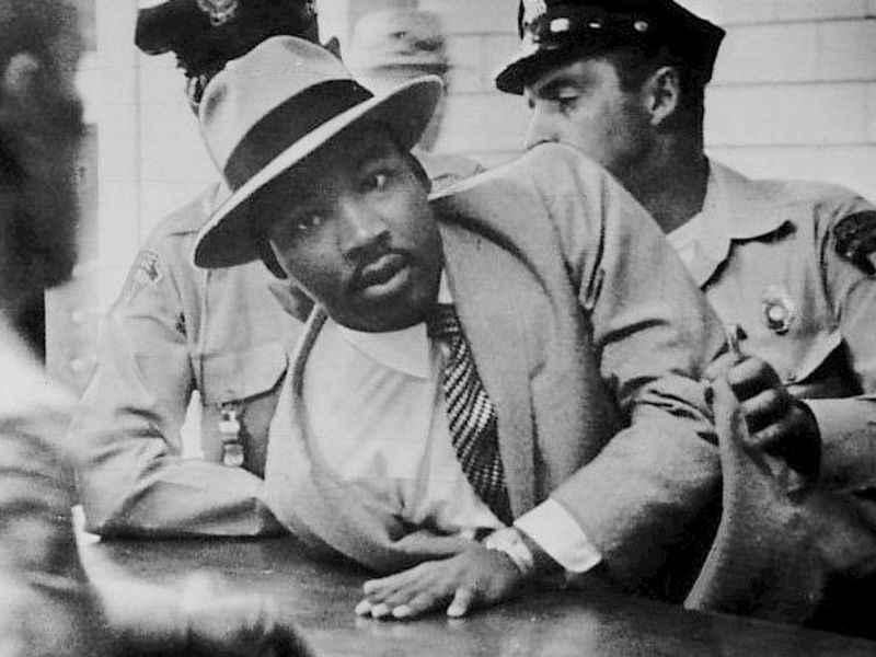 dr king arrest