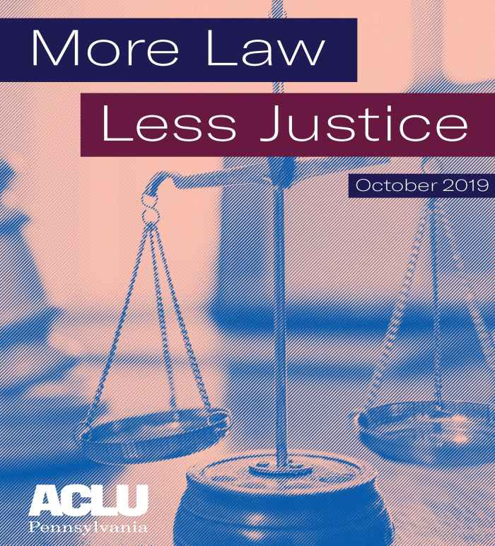 More Law, Less Justice