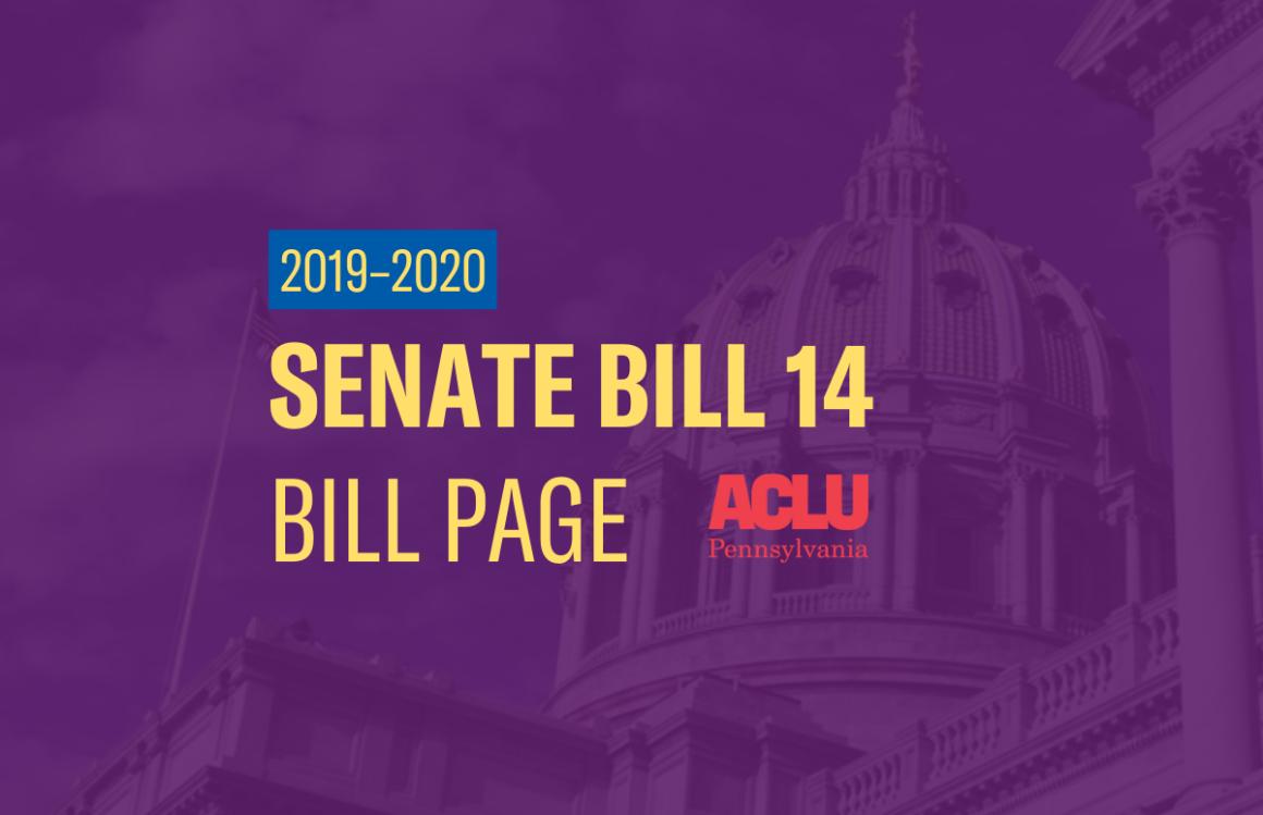 ACLU-PA Bill Page | SB 14
