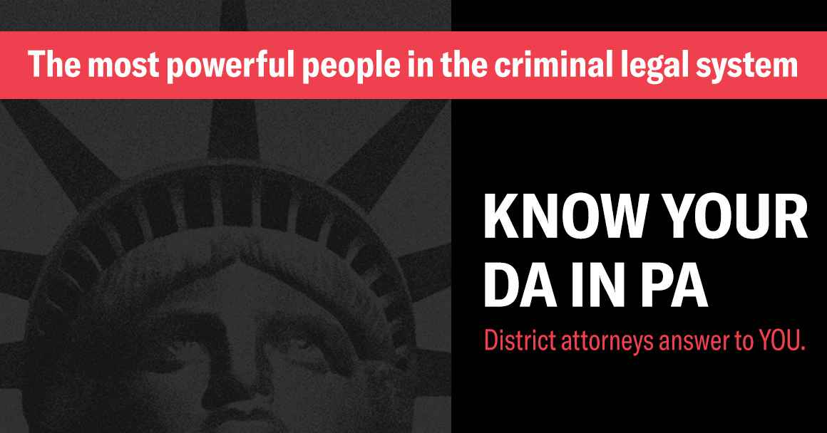 Know Your DA in PA carousel graphic